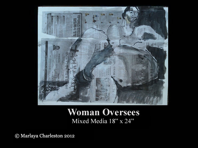 Woman Oversees